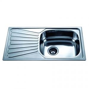 Кухненска мивка алпака ICK 7843L лява  Интер Керамик